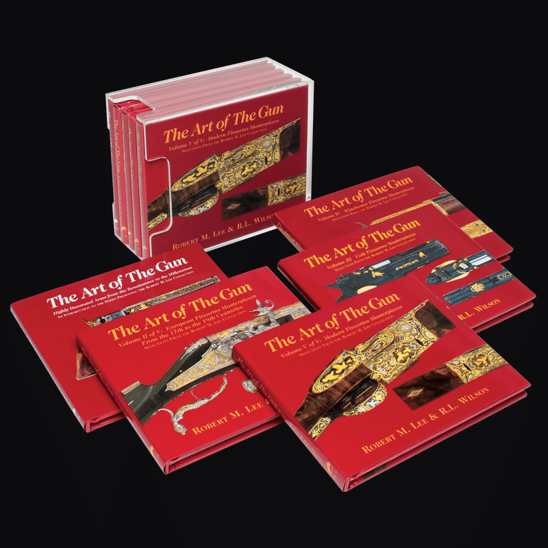 The Art Of The Gun: Miniature Books Set